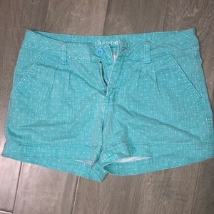 Limited Too Size 14 Girls Teal Shorts